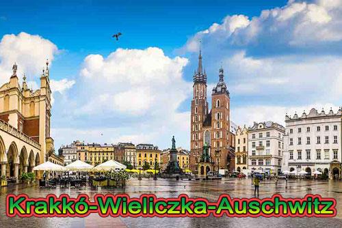 Krakkó-Wieliczka-Auschwitz