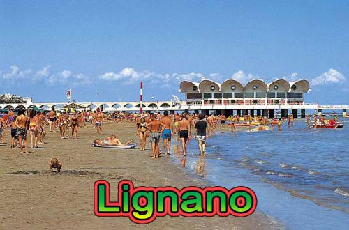 Lignano - olasz tengerparti fürdőzés